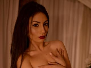 Picture of the sexy profile of DaliaFleur, for a very hot webcam live show !