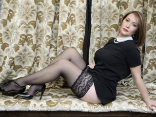 Picture of the sexy profile of LisaDesire, for a very hot webcam live show !