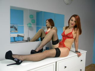 Picture of the sexy profile of RedJessika, for a very hot webcam live show !